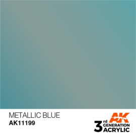 AK11199 METALLIC BLUE – METALLIC