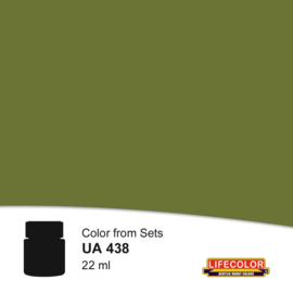 UA438 LifeColor  Medium IDF Green 22ml