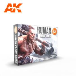 AK11603 3rd Gen Human Flesh Tone Set