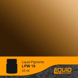 LPW19 LifeColor Liquid Pigments Wooden Deck Shadower (22ml)