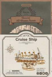 TG306 Robotime Cruise ship (Houten puzzle/kit)