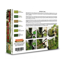 SPG06 Lifecolor Lichens & Moss set (This set contains 2 Fixate Fluids and 4 Powders)