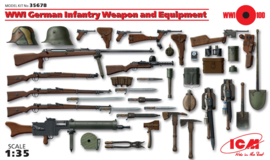 ICM35679 1:35 ICM WWI German Infantry Weapon and Equipment