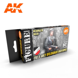 AK11627 3rd Gen FIELD GREY (FELDGRAU) UNIFORMS