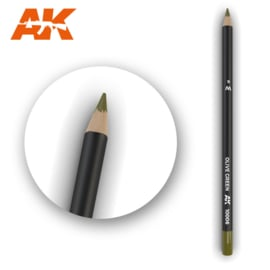 AK10006 Single pencil Olive green