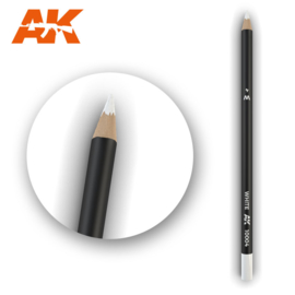 AK10004 Single pencil White