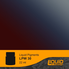 LPW30 LifeColor Liquid Pigments Blue Burned Exhaust(22ml)