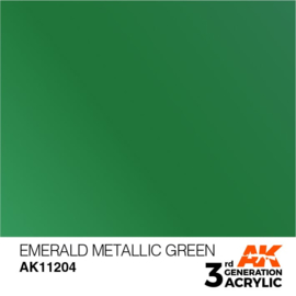 AK11204 EMERALD METALLIC GREEN – METALLIC