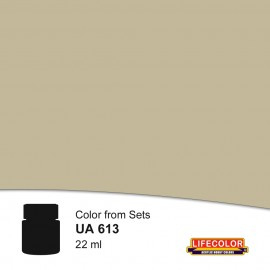 UA613 	LifeColor Grigio Cenerino Chiaro (22ml) FS 36408 Part of CS15