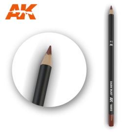 AK10013 Single Pencil Dark Rust