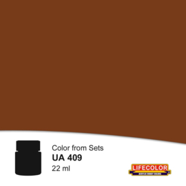 UA409 DARK BROWN