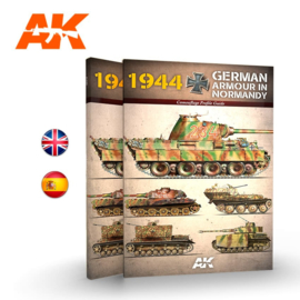 AK916 1944 GERMAN ARMOUR IN NORMANDY – CAMOUFLAGE PROFILE GUIDE