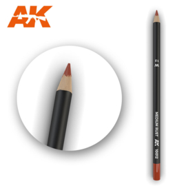 AK10012 Single Pencil Medium Rust