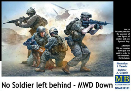 MB35181 1:35 Masterbox No Soldier left behind - MWD Down