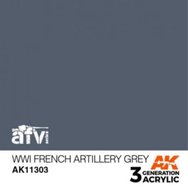 AK11303 WWI French Artillery Grey