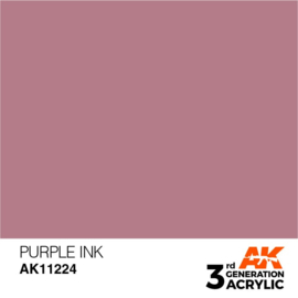 AK11224 PURPLE – INK