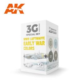 AK11716 3rd Gen WWII LUFTWAFFE EARLY WAR COLORS