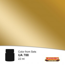 UA788 New Shell Brass Shade 1 (Black Base Not Needed)