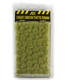 AK8127 Light green tufts 12mm
