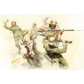 MB35092 1:35 Masterbox German and british soldiers in hand to hand combat North Afrika