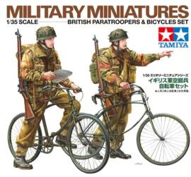 TA35333 1:35  British Paratroopers & Bicycle set