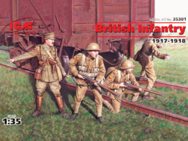 ICM35301 1:35 ICM WWI British Infantry