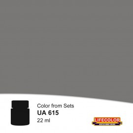 UA615  LifeColor Grigio Piombo Ponte (22ml) FS 36118 Part of CS15