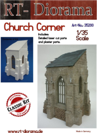 RT35200 1:35 RT-Diorama Church Corner