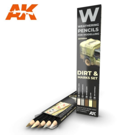 AK10044 Dirt Marks set (5 Pecils)