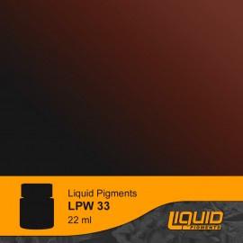 LPW33  Lifecolor Liquid Pigment Red Umber 22ml
