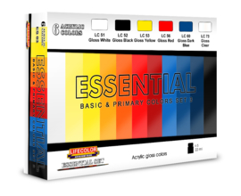 BES03 Lifecolor Basic Colors set 3 (6x 22mL)