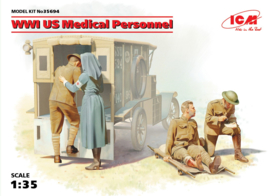 ICM35694 1:35 ICM WWI US Medical Personnel new Molds