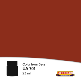 UA701 LifeColor Rust dark shadow (22ml) FS30108