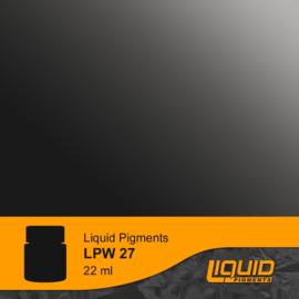LPW27 LifeColor Liquid Pigments Grey Liner (22ml)