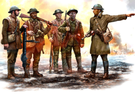 MB35146 1:35 Masterbox British Infantry Somme Battle 1916 (5 Figures)