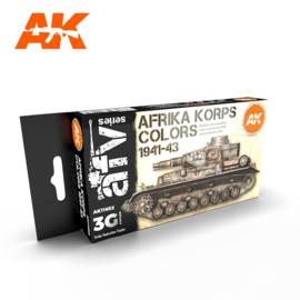 AK11652 3rd Gen AFRIKA KORPS COLORS 1941-43