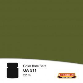 UA511 LifeColor Hellgrun rlm 82 (22ml) (from CS07 set)