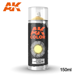 AK1024 Sand Yellow Color Spray