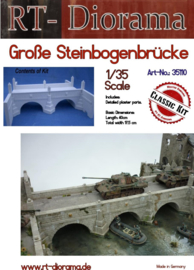 RT35110 1:35 RT-Diorama Large stone arch bridge (40cm) (can be extended with RT35111)
