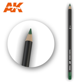 AK10008 Single pencil Dark Green
