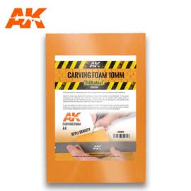 AK8094 Carving Foam 10mm A4