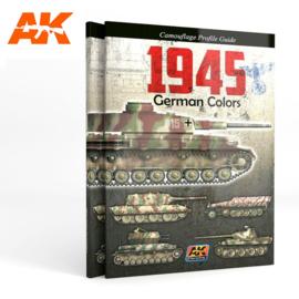 AK403 1945 GERMAN COLORS. CAMOUFLAGE PROFILE GUIDE
