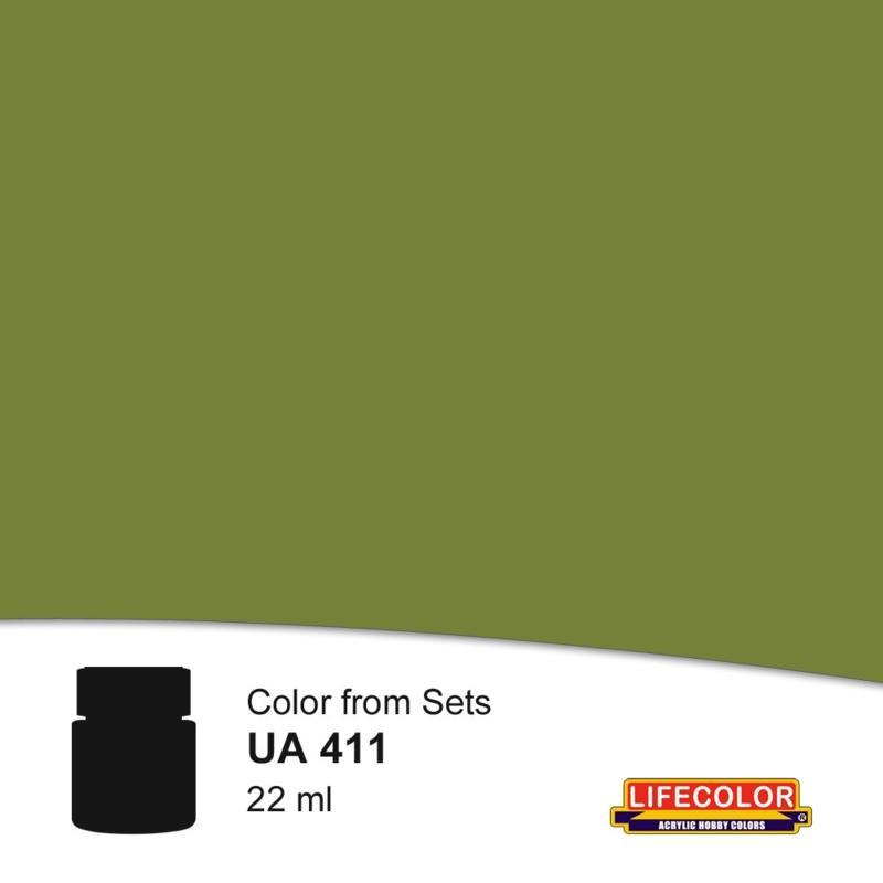 UA411 DARK GREEN