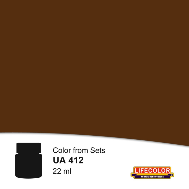 UA412 EXTRA DARK BROWN
