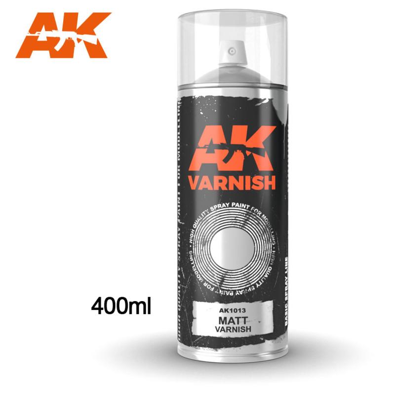 AK1013 Matt Varnish Spray