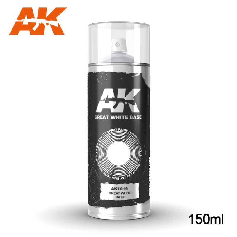 AK1019 Great Whte Base Spray