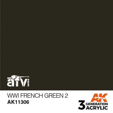 AK11306 WWI French Green 2