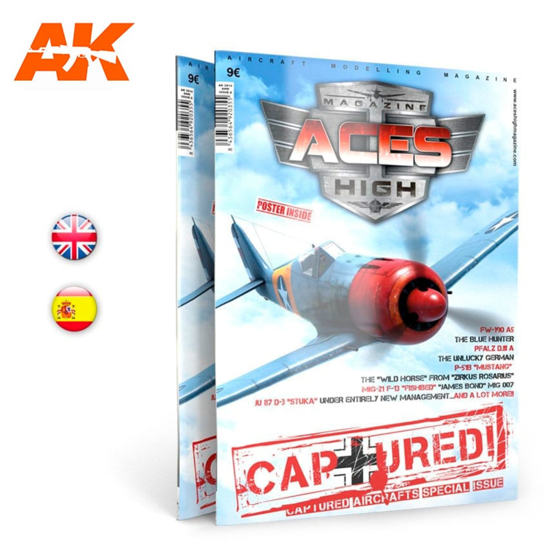 ACES HIGH 08: CAPTURED!