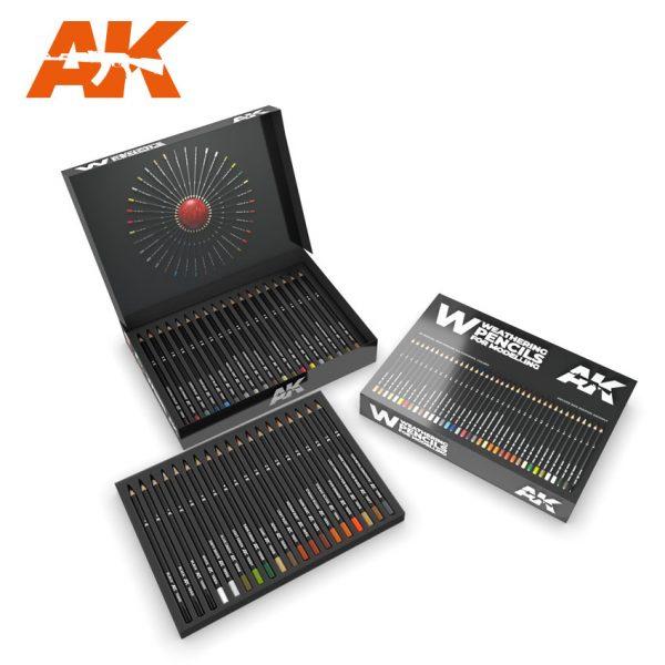 AK10047 Complete Pencil set in Deluxe Edition Box (37 Pencils)