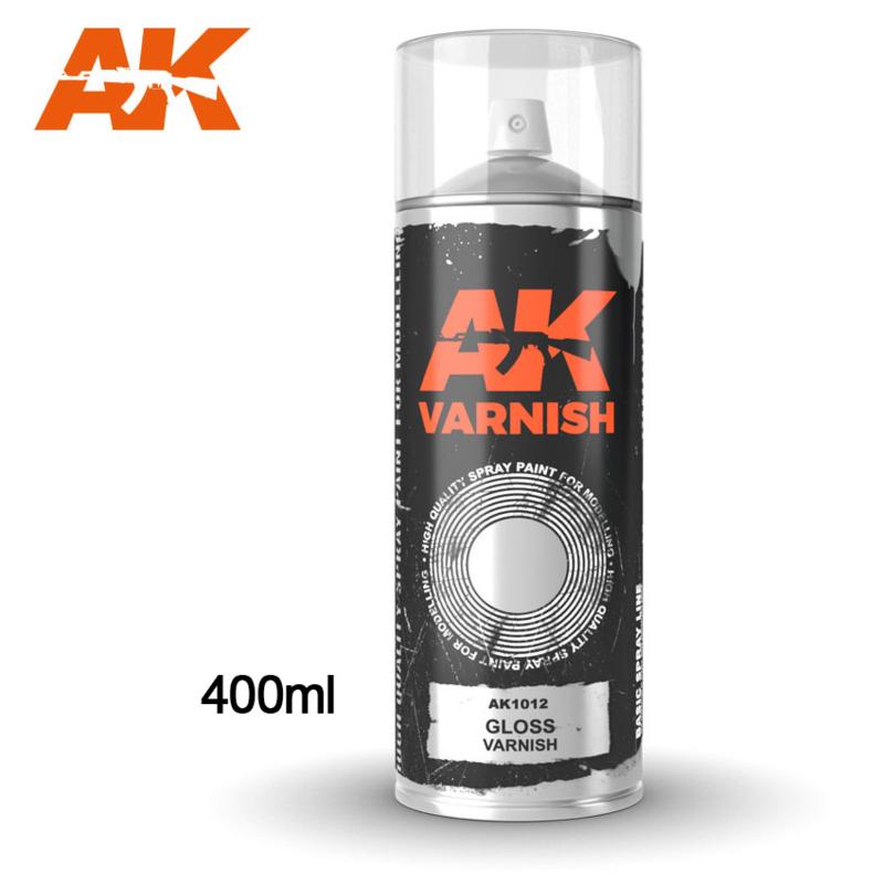 AK1012 Gloss Varnish Spray